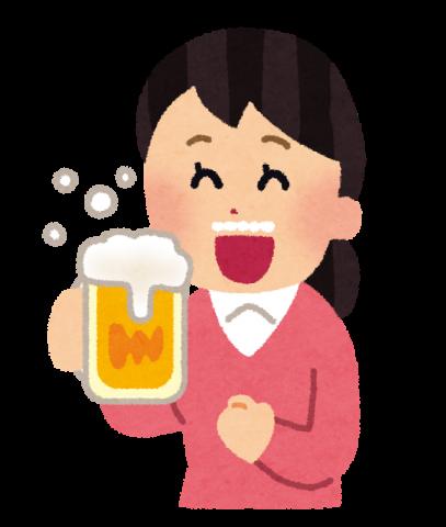 ビール イラスト