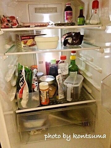 冷蔵庫 ビフォー