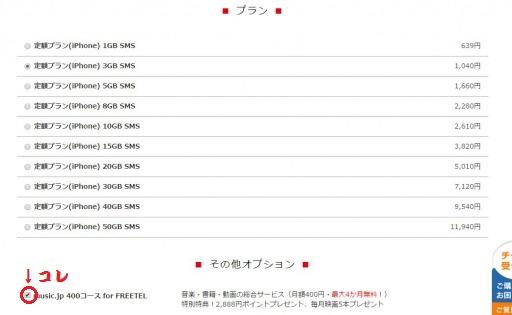 格安SIM FREETEL iPhone iPad