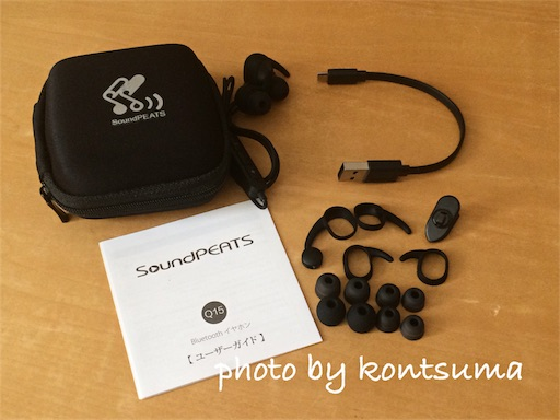 イヤホン Bluetooth Q15