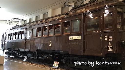 東武博物館 デハ1形5号
