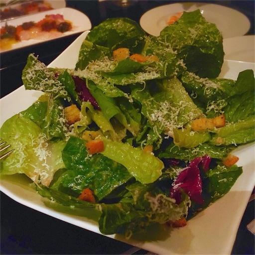 ローメインレタスのシーザーサラダ