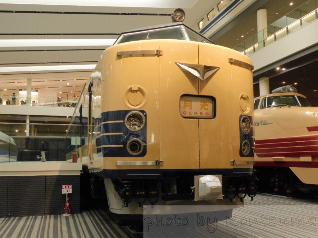 京都鉄博クハネ581形