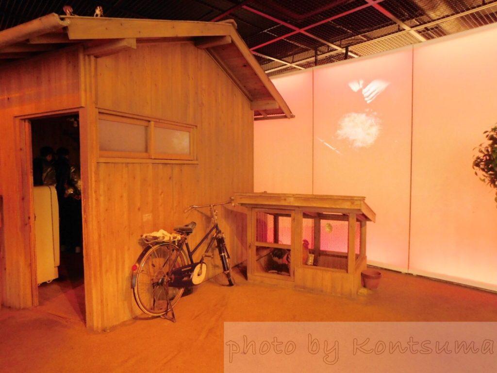 チキンラーメン裏庭小屋