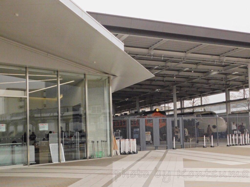 京都鉄博入口