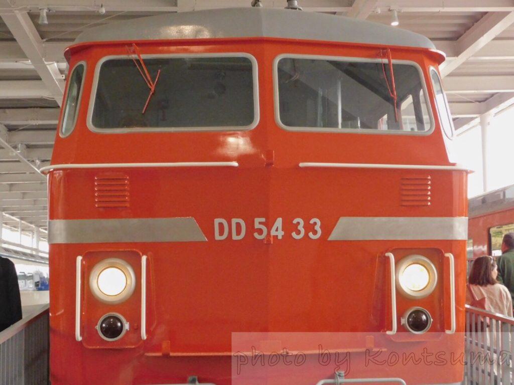 京都鉄博DD54型