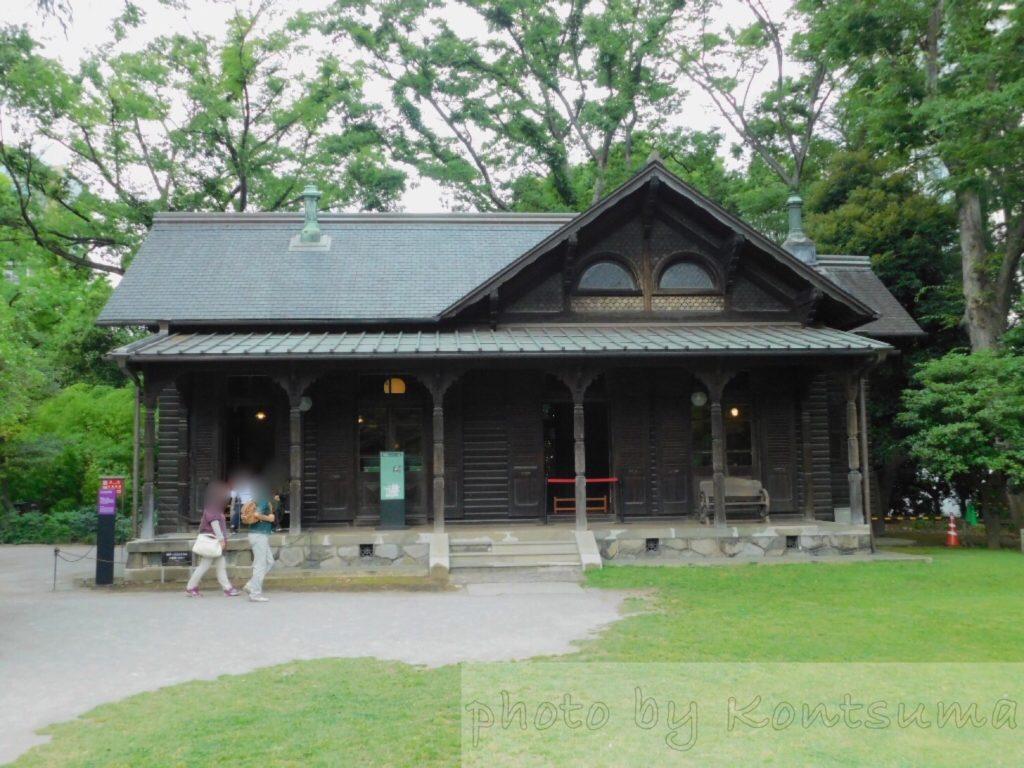 旧岩崎邸庭園 撞球室