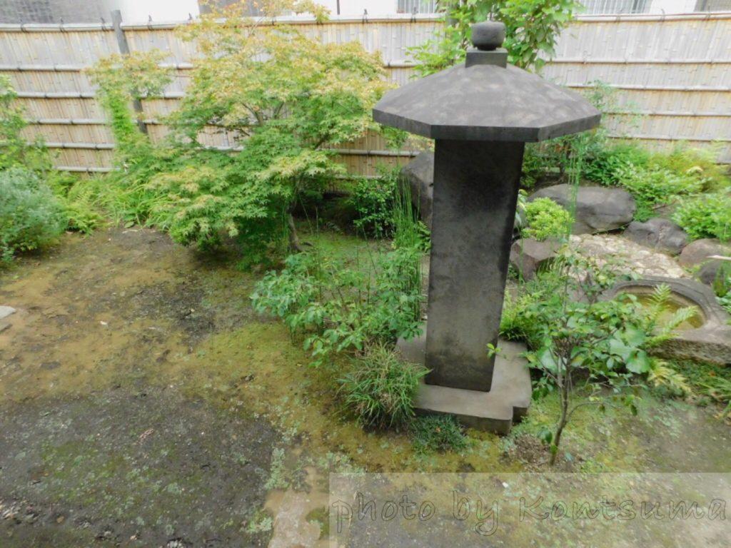 旧岩崎邸庭園 和館への通路