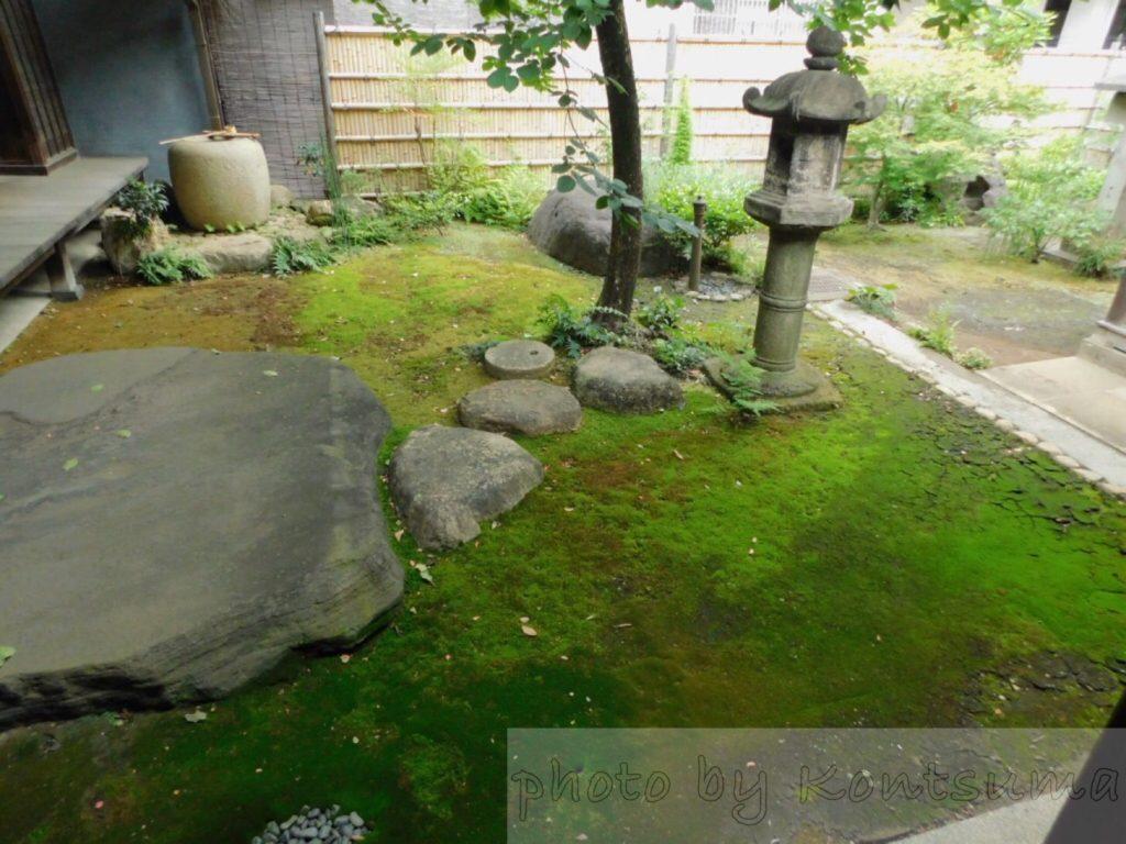 旧岩崎邸庭園 和館への通路2