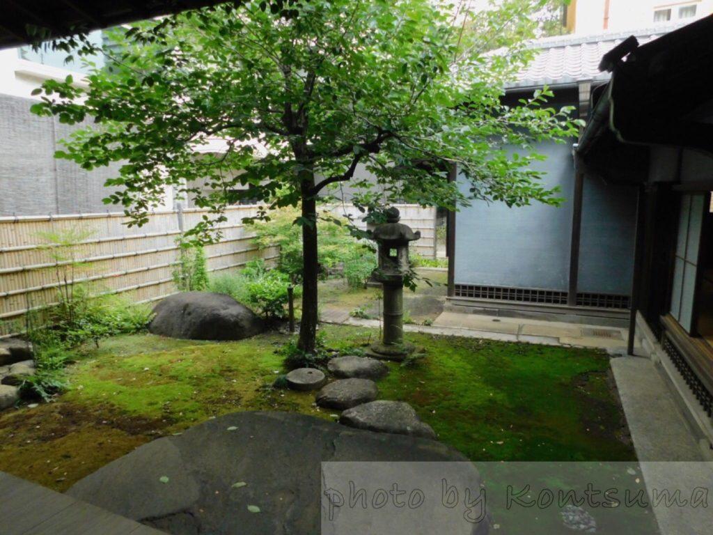 旧岩崎邸庭園 和館への通路3