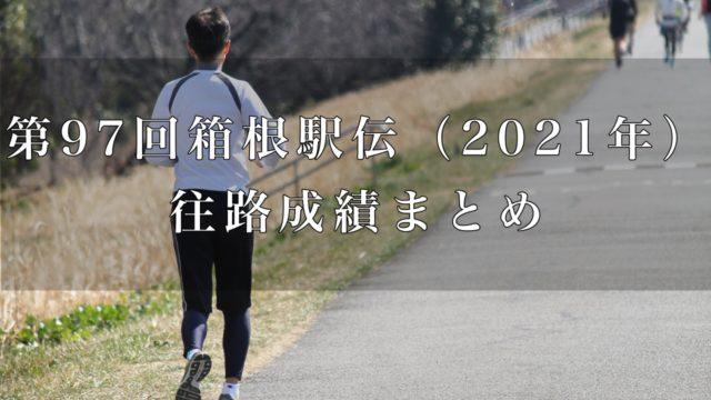 2021箱根往路